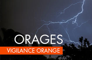 Vigilance Orange - Risques d orages